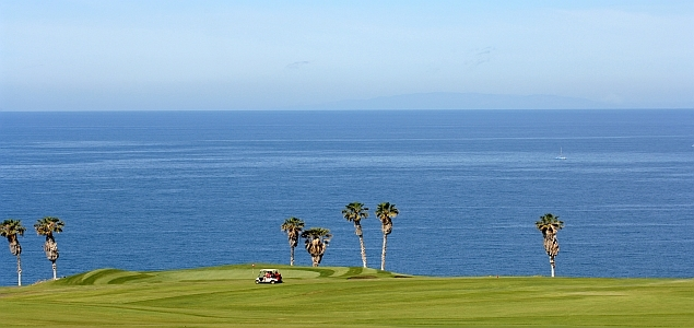 Golf Costa Adeje Meer + Buggy